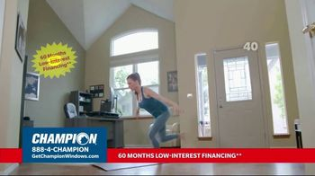Champion Windows TV Spot, 'Struggling to Get Fresh Air: 40%' - Thumbnail 6
