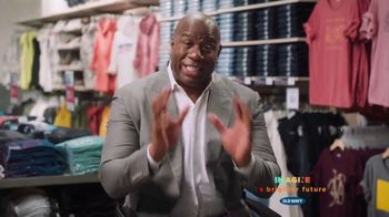 Old Navy This Way Onward TV Spot, \'Introduction\' Featuring Magic Johnson