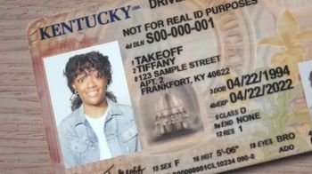 U.S. Department of Homeland Security TV Spot, 'Real ID: Tiffany Takeoff'