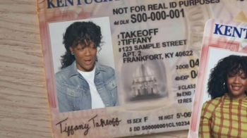 U.S. Department of Homeland Security TV Spot, 'Real ID: Tiffany Takeoff' - Thumbnail 3