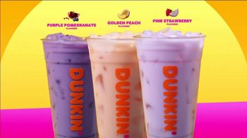 Dunkin' Coconut Refreshers TV Spot, 'Do What Feels Bright' - Thumbnail 6