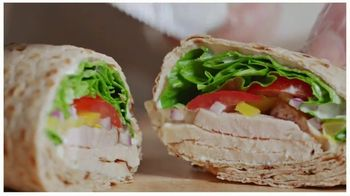 Arby's Creamy Mediterranean Chicken Wrap TV Spot, 'Shorter Version' Song by YOGI