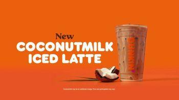 Dunkin' Coconutmilk Iced Latte TV Spot, 'Refreshing'