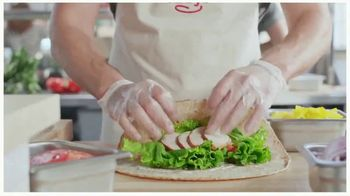 Arby's Creamy Mediterranean Chicken Wrap TV Spot, 'Perfect Combo' Song by YOGI - Thumbnail 4