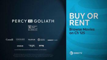 DIRECTV Cinema TV Spot, 'Percy vs Goliath' - Thumbnail 9
