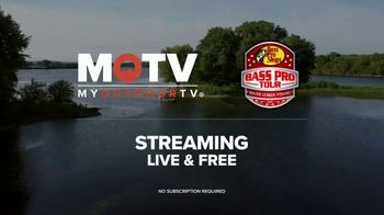 My Outdoor TV TV Spot, 'MLF: Bass Pro Tour: Streaming Stage I Live' - Thumbnail 3