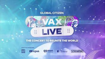 Global Citizen TV Spot, 'Vax Live' Song by Noah Neiman - 120 commercial airings