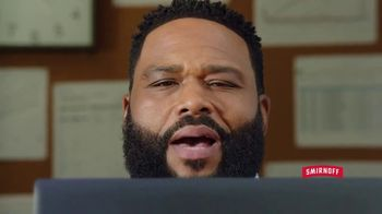 Smirnoff Red White & Berry Seltzer TV Spot, 'Flavor on 100. Sugar on Zero.' Featuring Anthony Anderson