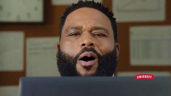 Smirnoff Red White & Berry Seltzer TV Spot, 'Flavor on 100. Sugar on Zero.' Featuring Anthony Anderson - Thumbnail 4