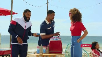 Smirnoff Red White & Berry Seltzer TV Spot, 'Flavor on 100. Sugar on Zero.' Featuring Anthony Anderson - Thumbnail 7