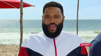 Smirnoff Red White & Berry Seltzer TV Spot, 'Flavor on 100. Sugar on Zero.' Featuring Anthony Anderson - Thumbnail 8