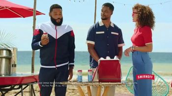 Smirnoff Red White & Berry Seltzer TV Spot, 'Flavor on 100. Sugar on Zero.' Featuring Anthony Anderson - Thumbnail 9