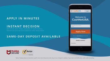 CashNetUSA TV Spot, 'Be a Hero: Manage Your Bills' - Thumbnail 7