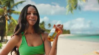 Corona Premier TV Spot, 'Small Goals' Featuring Zoe Saldana, Song by Durand Jones & The Indications - 2062 commercial airings