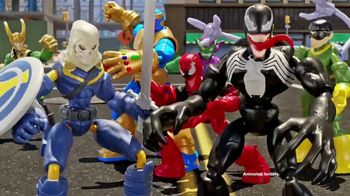 Marvel Spider-Man & Avengers Bend and Flex Figures TV Spot, 'Flex Your Ride'