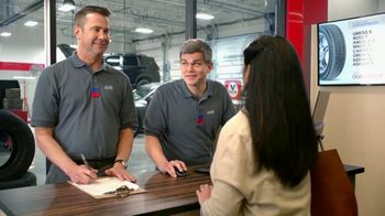 Tire Kingdom TV Spot, 'Two Advisors: No Surprise: $100 Mail-in Rebate'