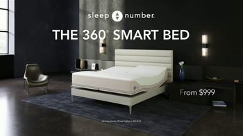 Sleep Number 360 Smart Bed TV Spot, 'Weekend Special: Save $1,200' - Thumbnail 2
