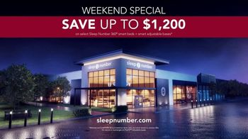 Sleep Number 360 Smart Bed TV Spot, 'Weekend Special: Save $1,200' - Thumbnail 8