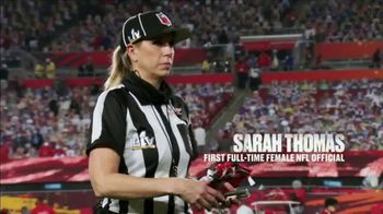 NFL TV Spot, 'Connie Carber: Pioneer' - Thumbnail 5