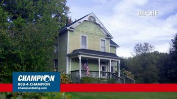 Champion Windows TV Spot, 'Transform Your Home and Upgrade Your Curb Appeal: 25%' - Thumbnail 1