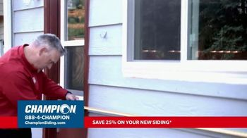 Champion Windows TV Spot, 'Transform Your Home and Upgrade Your Curb Appeal: 25%' - Thumbnail 4