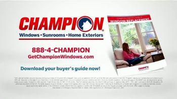 Champion Windows TV Spot, 'Time for New Windows: 40%' - Thumbnail 9
