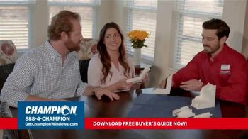 Champion Windows TV Spot, 'Time for New Windows: 40%' - Thumbnail 6