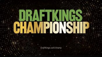 DraftKings Championship Series TV Spot, 'Hype King Is on the Clock' - Thumbnail 7