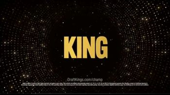 DraftKings Championship Series TV Spot, 'Hype King Is on the Clock' - Thumbnail 8