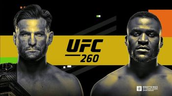 DraftKings at Casino Queen Sportsbook TV Spot, 'UFC 260: Bet $1, Win $100'