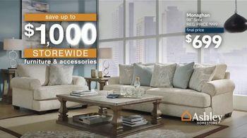 Ashley HomeStore Anniversary Sale TV Spot, '$1,000 Storewide' - Thumbnail 3
