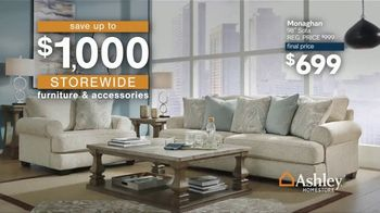 Ashley HomeStore Anniversary Sale TV Spot, '$1,000 Storewide' - Thumbnail 4