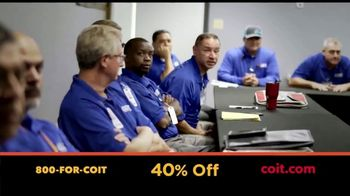 COIT TV Spot, 'Local Owners: 40% Off'