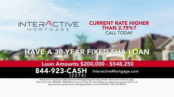 Interactive Mortgage TV Spot, '2.75% Rate'