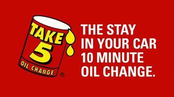 Take 5 Oil Change TV Spot, 'Spring Forward: $15 Off'