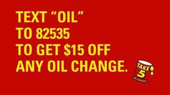 Take 5 Oil Change TV Spot, 'Spring Forward: $15 Off' - Thumbnail 7