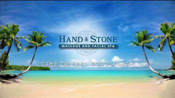 Hand & Stone TV Spot, 'Feel Good Again: $59.95' - Thumbnail 1