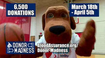 Blood Assurance TV Spot, 'Donor Madness: Save Three Lives' - Thumbnail 7
