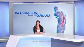 Genomma Lab Internacional TV Spot, 'El dolor de espalda' con Chiqui Delgado [Spanish] - 166 commercial airings