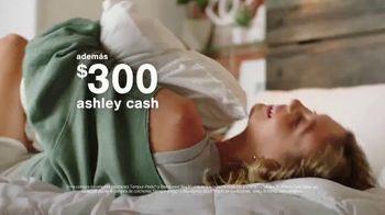Ashley HomeStore Anniversary Sale TV Spot, 'Venta de colchones: 0% intereses y $300 Ashley Cash' [Spanish] - Thumbnail 8