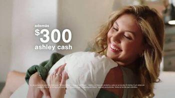Ashley HomeStore Anniversary Sale TV Spot, 'Venta de colchones: 0% intereses y $300 Ashley Cash' [Spanish] - Thumbnail 7