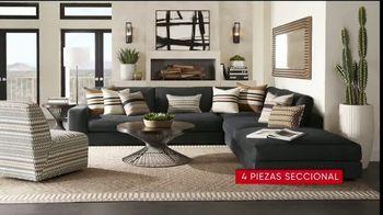Rooms to Go Venta de 30 Aniversario TV Spot, 'Cindy Crawford Home Cuatro-Piezas Seccional' [Spanish] - Thumbnail 3
