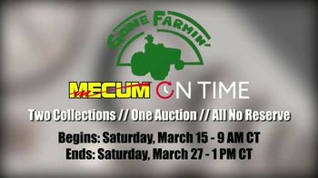 Mecum On Time TV Spot, 'Jackson Boy's Collection and The Andy & Doris Spaans Collection' - Thumbnail 1