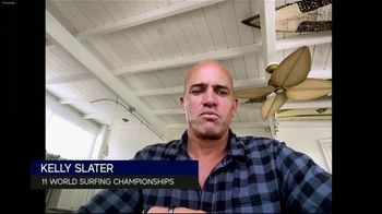 Michelob ULTRA TV Spot, 'How Does He Pull It Off?' Featuring Kelly Slater - 2 commercial airings
