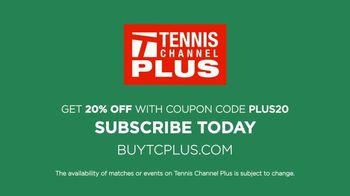 Tennis Channel Plus TV Spot, 'Live Tennis Anywhere: 20% Off' - Thumbnail 10