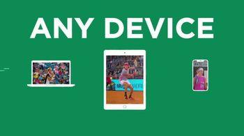Tennis Channel Plus TV Spot, 'Live Tennis Anywhere: 20% Off' - Thumbnail 6