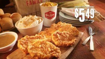 Bob Evans Restaurants Family Meal TV Spot, 'Homemade Meal in a Hurry' - Thumbnail 5