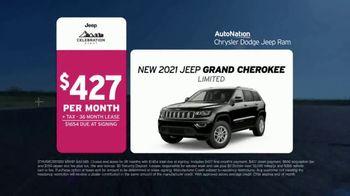 AutoNation Chrysler Dodge Jeep Ram Celebration Event TV Spot, 'Go Time: 2021 Grand Cherokee' - Thumbnail 5