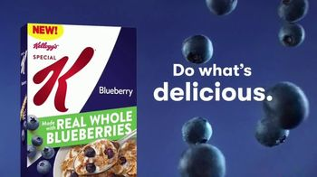 Special K Blueberry TV Spot, 'Do What's Delicious' Song by Jaco Prince and Amy McKnight - Thumbnail 6