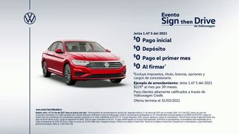 Volkswagen Evento Sign Then Drive TV Spot, 'Clasificaciones: sedanes' [Spanish] [T2] - Thumbnail 6